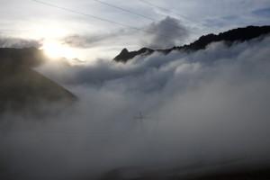 Mer de brouillard au Stelvio!!