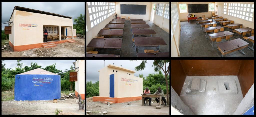 Togo to children, notre association partenaire, a su fructifier les fonds récoltés et le 1er projet voit le jour en décembre 2013.