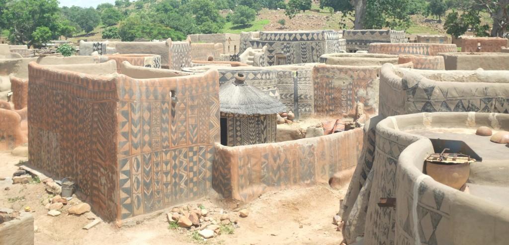 La découverte du village de Tiebele