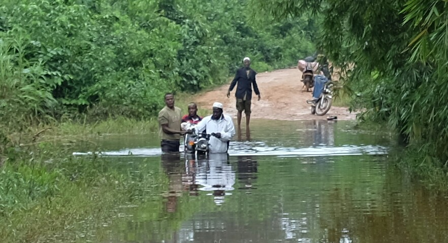 Sur les routes de la Côte-d'Ivoire Là où se mérite chaque mètre