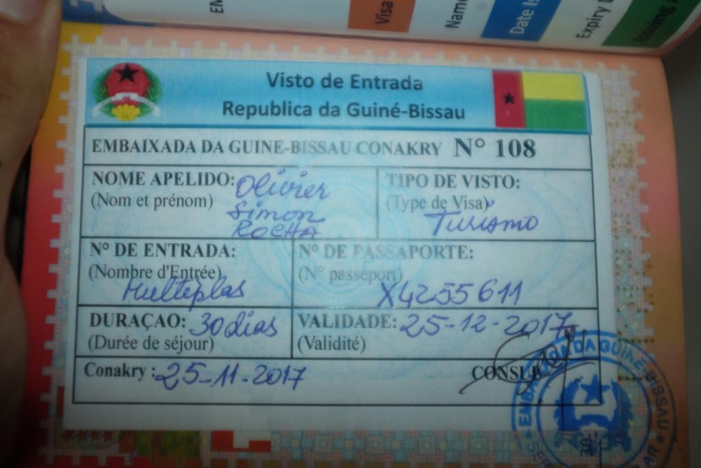 Visa Guinée Bissau