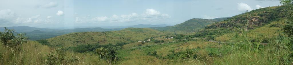 lorsque je me lance dans les montagnes du Fouta-Djalon, j'y ajoute les paysages.
