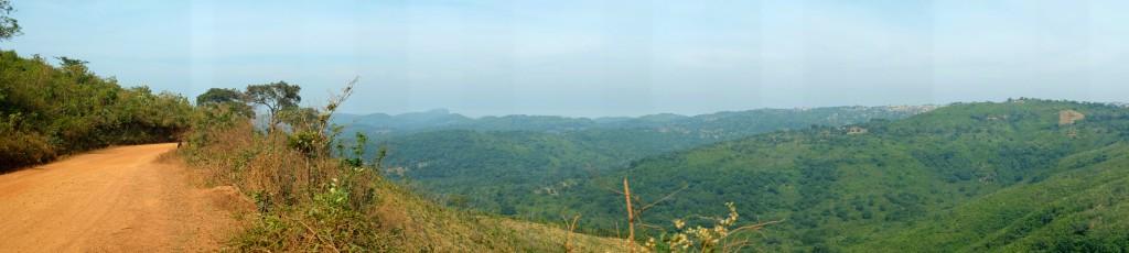 Une piste qui restera peut-être comme la meilleure piste que j'ai découvert en Guinée.