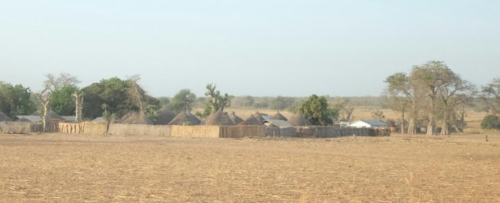 ses petits villages aux petites maisons rondes.