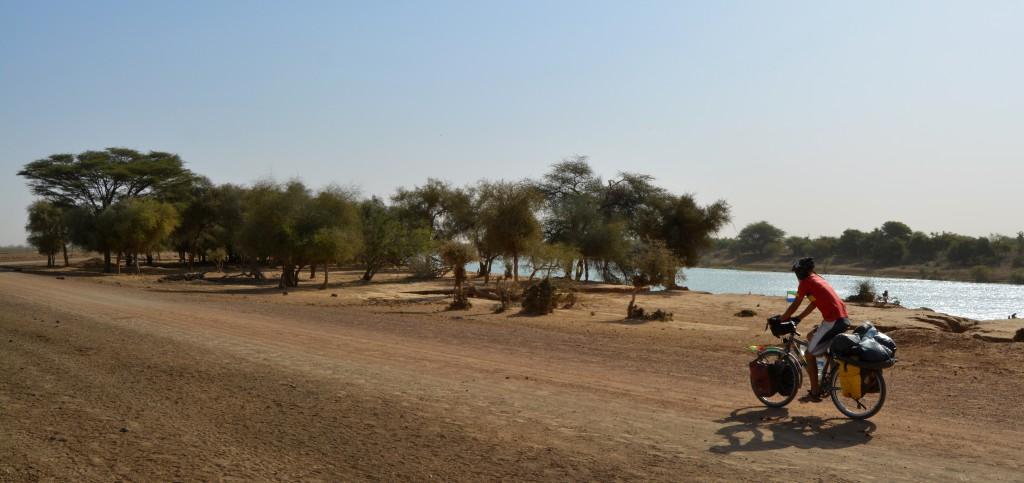 Le fleuve Sénégal. Un fleuve qui sépare le Sénégal de la Mauritanie.