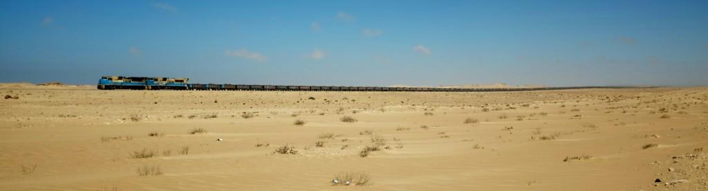 Le train peut mesurer jusqu'à 3 kilomètres de long.