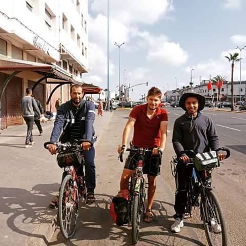 À Casablanca avec Rachid et un ami, Zakaria